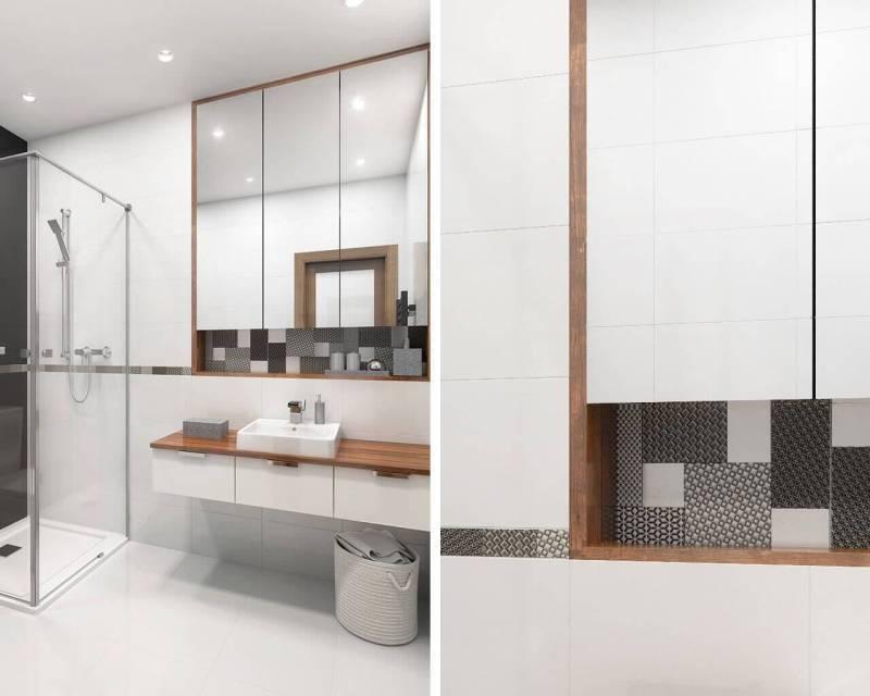 Красивые идеи для маленькой ванной комнаты, это возможно